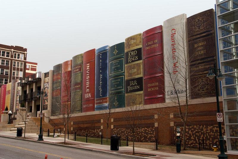 Публичная библиотека в Канзас-Сити, США
