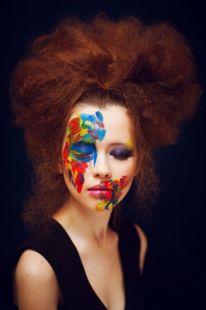 Фотопроект с красками