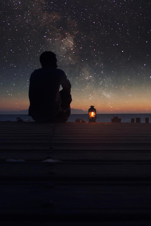 wandering alone at night - HD910×1365