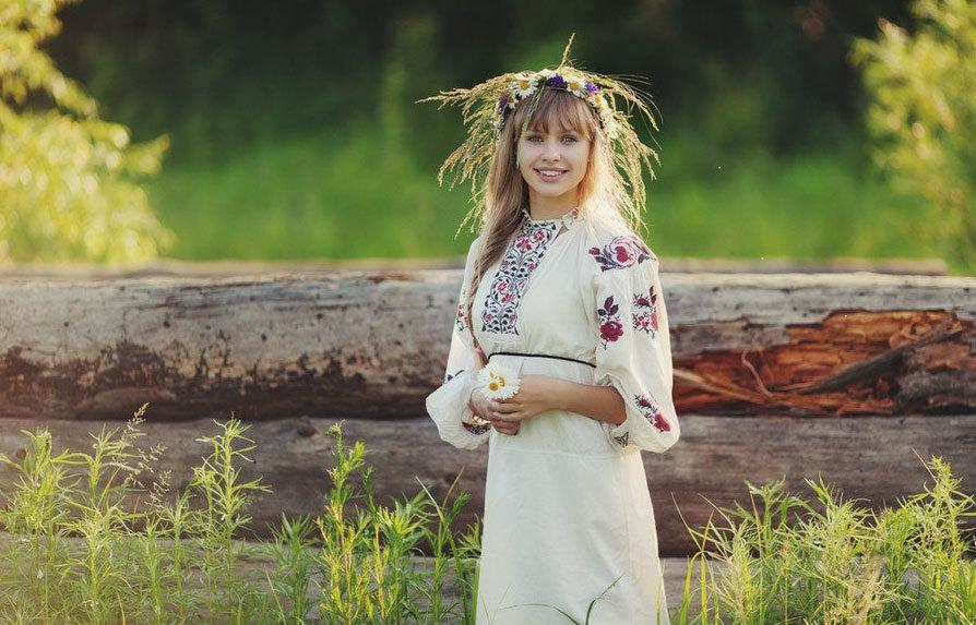 Фото деревенский простых девушек