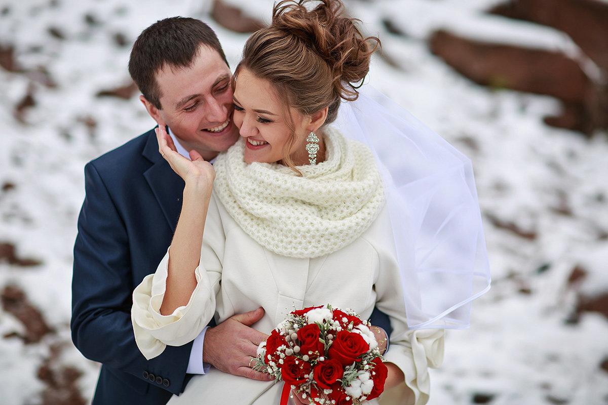 зимний образ невесты в Костроме