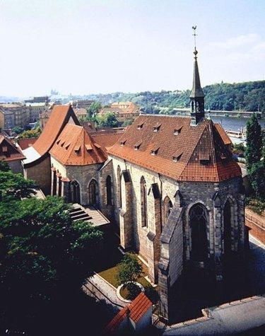 анежский монастырь чехия