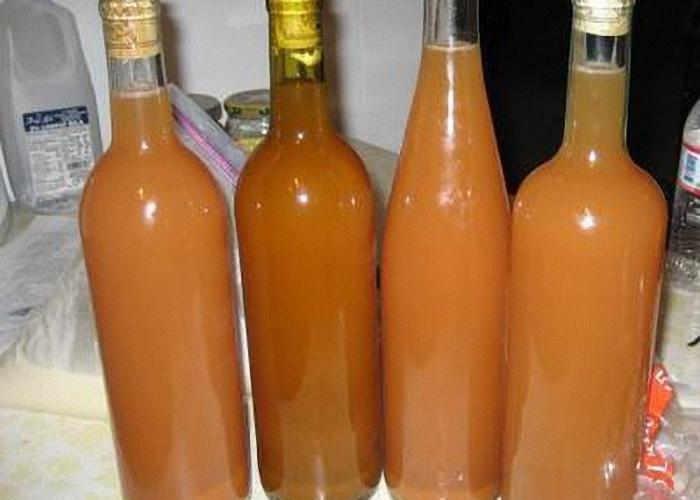 Рецепт домашнего вина из яблочного варенья