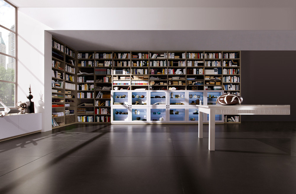 библиотеки в стиле хайтек фото отличия