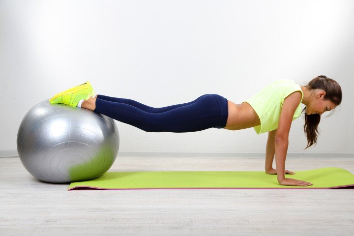 Fitness pose exercises