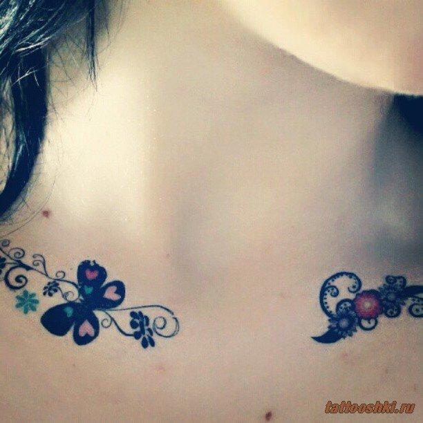 Тату на шее | Татуировки и все о них фото, эскизы, значение