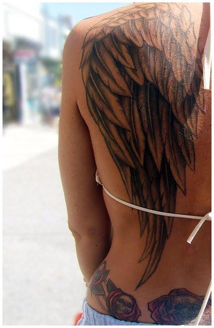 Тату на спине женские идеи и фото - татуировки на спине женские фото