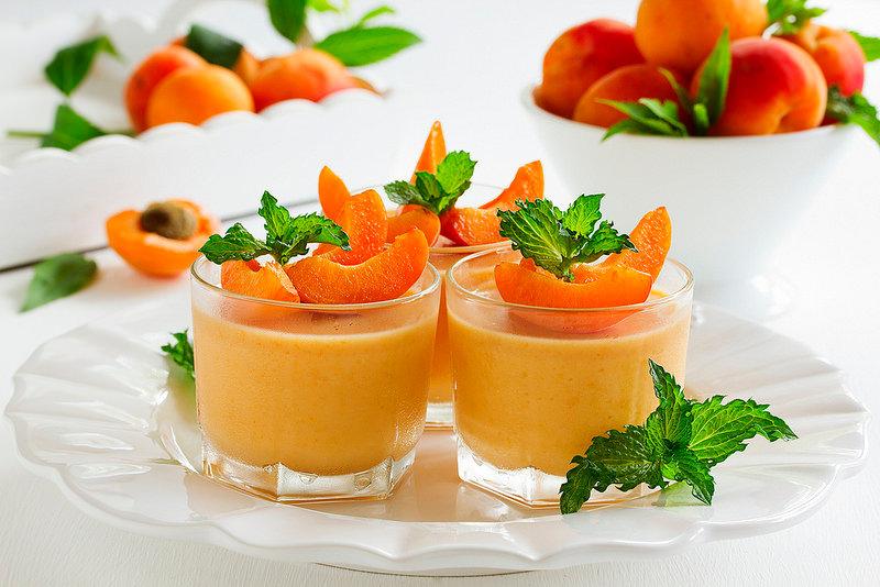 абрикосовое желе