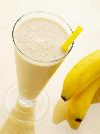 банановый молочный коктель
