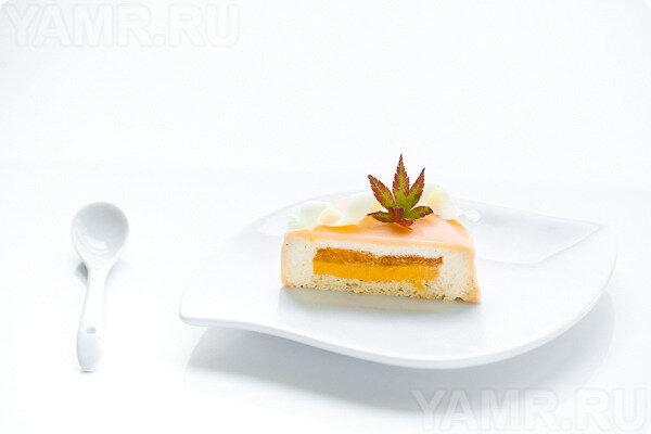 Бисквитно ванильное пирожное