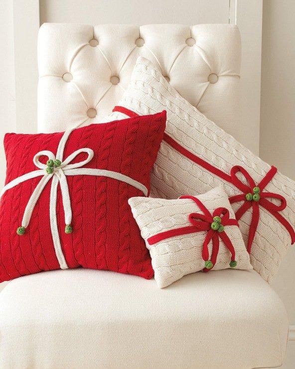 Декорирование подушек своими руками фото идеи.