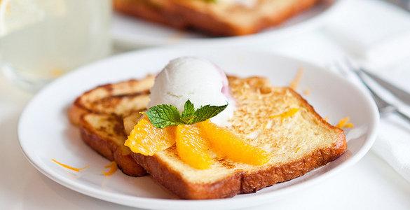 французские тосты рецепт, французские тосты с фруктами