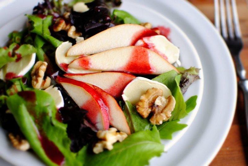 Фруктовый салат с сыром бри фото-рецепт