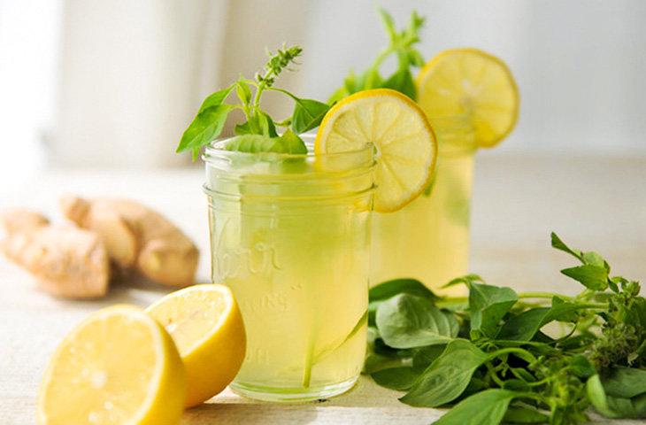— Ginger Spiced Ised Tea —