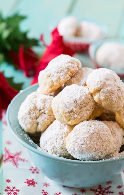 Греческое праздничное печенье (Курабье)