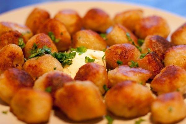 Картофельные клецки с сыром