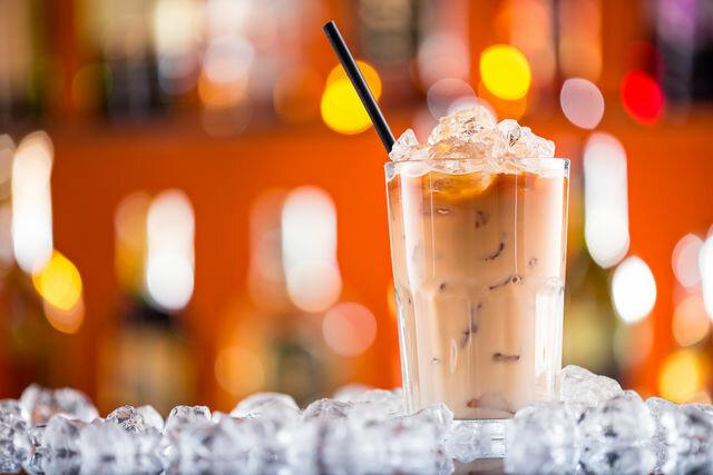 Кофейный лед