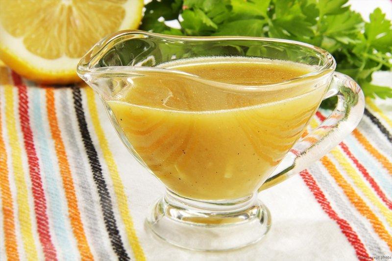Медово-горчичный соус рецепт