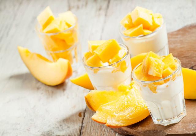 Освежающий десерт с манго для Раков