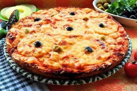 Пицца Гавайская, фото рецепт