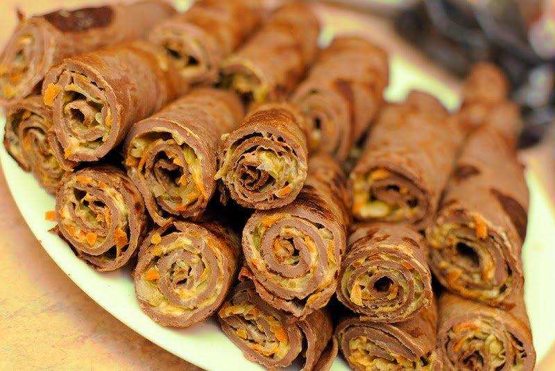 Простой рецепт печеночных блинчиков