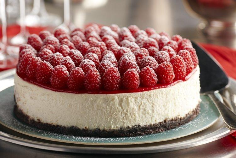 Raspberry Cheesecake with Grand Marnier Recipe