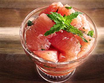 Салат грейпфрутовый - Фруктовые салаты - Рецепты - Вкусные рецепты на каждый день