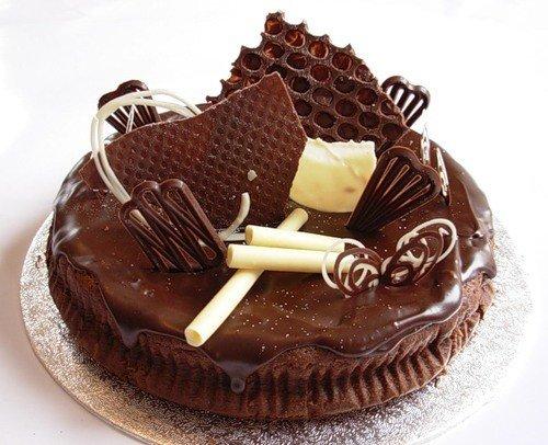 Шоколадный торт – праздник любимого вкуса