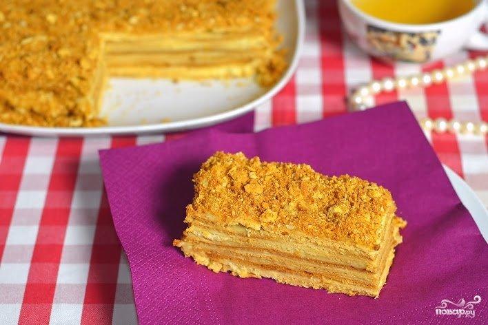 Вкусный блог торт наполеон