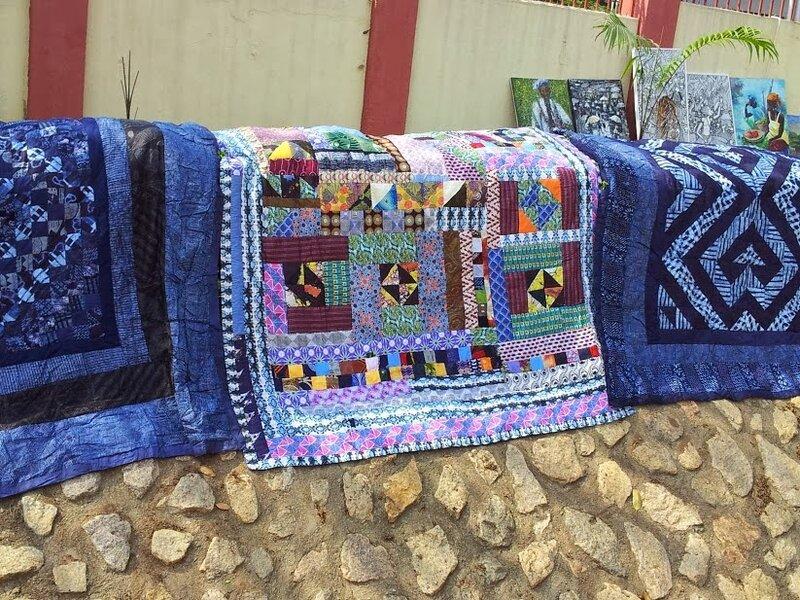 Цвета Африки: Лоскутное шитье. Нигерия.Women of Hope