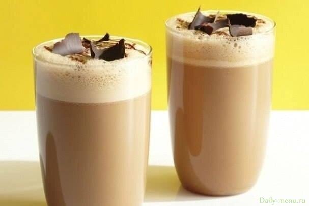 Воздушный кофейно-молочный коктейль - Рецепты пользователя Edel Weiss - Daily-menu.ru