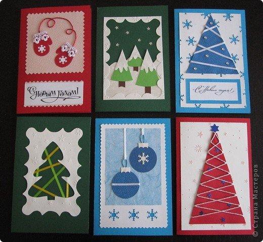Новогодние открытка для детей 4-5 лет