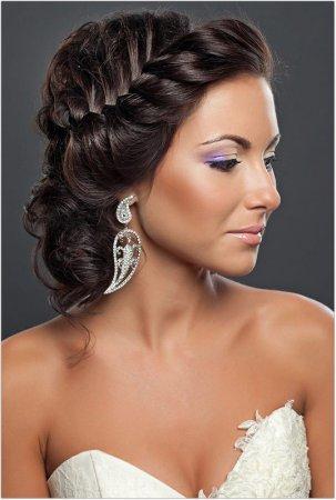 Грецькі зачіски на довге волосся