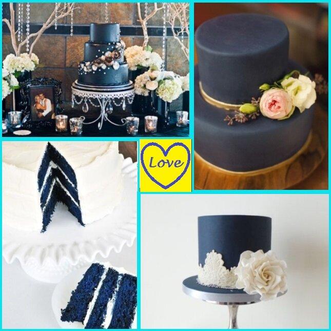 Классическая свадьба в синем цвете 8