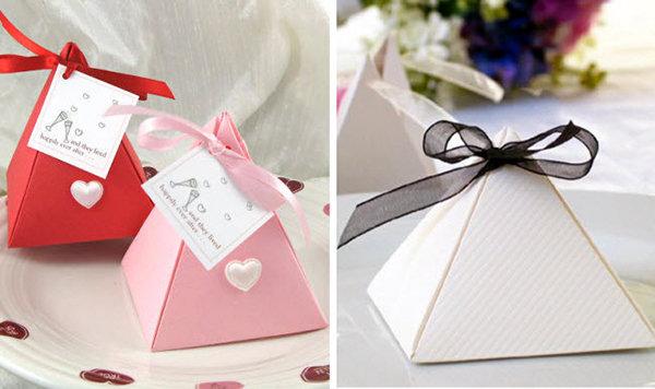 Как сделать бонбоньерку на свадьбу: маленький подарок