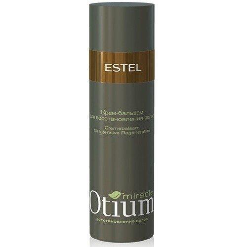 Крем-бальзам для восстановления волос Estel Otium Miracle Cream Balm 200 мл Крем-бальзам для восстановления волос Estel Otium Miracle Cream Balm создан специалистами компании Эстель для активного восстановления особо поврежденных волос.