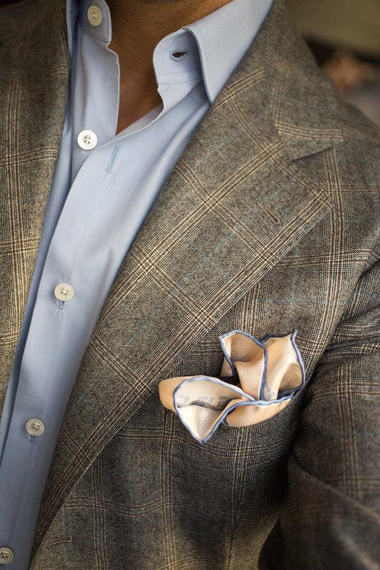 Платочек в верхнем кармане пиджака. В чем секрет?: la_gatta_ciara