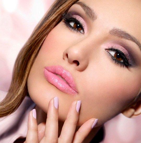 простой макияж для карих глаз на каждый день