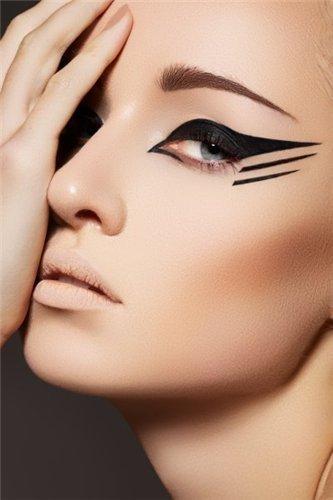 » Стрелки на глазах: как научиться рисовать правильные аккуратные стрелки   Стилист, визажист, эксперт по бровям Эльвира Ахметхозина в СПб