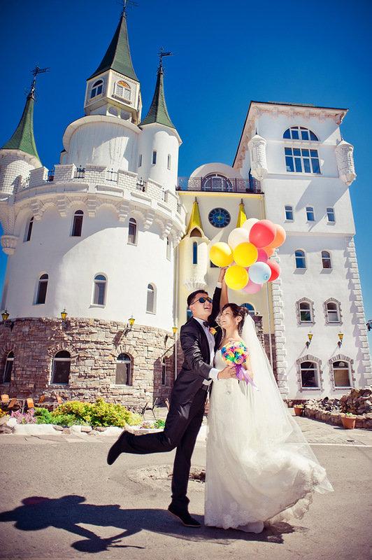 Свадьба Алины и Артура: радужная, позитивная, красочная | Marry Me, Rustem!