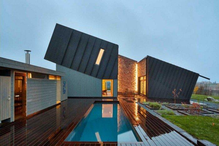 Инновационная архитектура домов в Норвегии