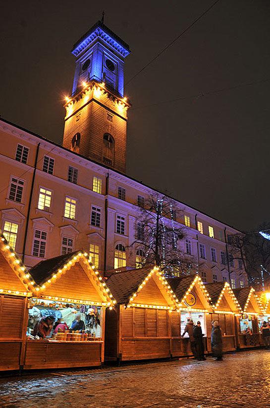 Новогодние фотографии во Львове, Рождественские фотографии во Львове, Львов зимой