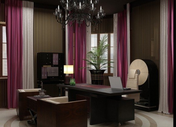 Дизайн кабинета в квартире. Дизайн домашнего кабинета