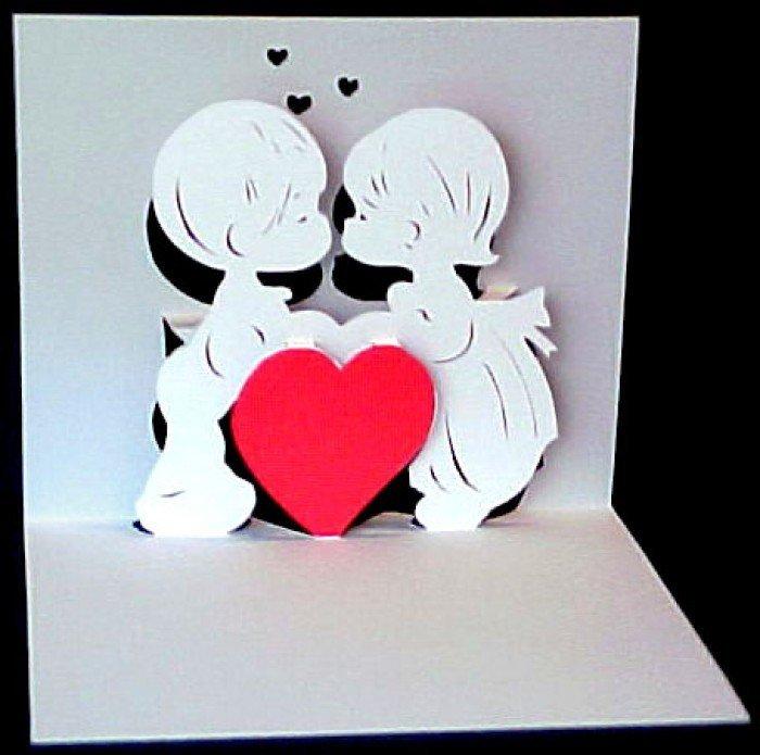 одна таких, открытки на святое валентина из бумаги правой кнопкой мыши