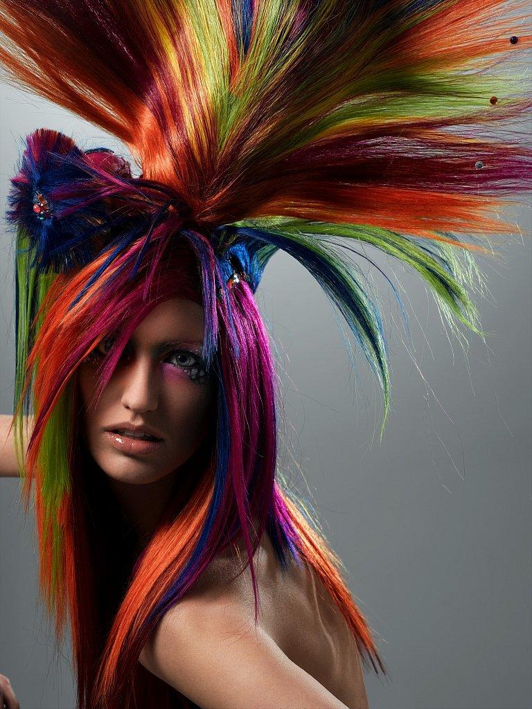 Смешная покраска волос картинки