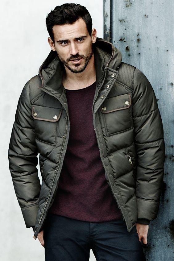 добавлять зимняя одежда для мужчин фото первое, что