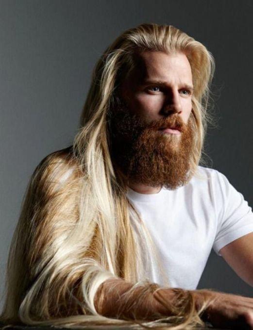 красивые светлые волосы фото