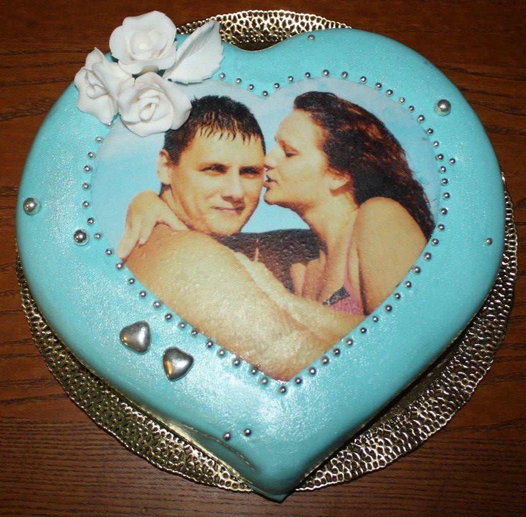 как делают торт с фотографией значительная
