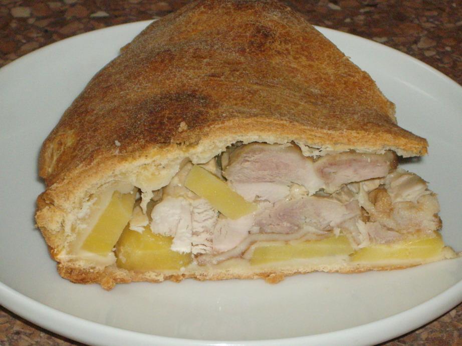 курник рецепт с курицей и картошкой рецепт с фото