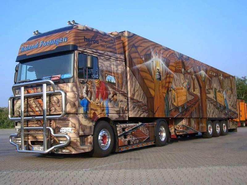 Необычные грузовики фото нескольких